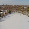 Community Park in Winter 2 : Aerial Photography from Project Aerospace