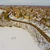 Community Park in Winter 5 : Aerial Photography from Project Aerospace