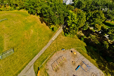 Community Park in Early Autumn 7 : Aerial Photography from Project Aerospace