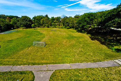 Community Park in Early Autumn 1 : Aerial Photography from Project Aerospace