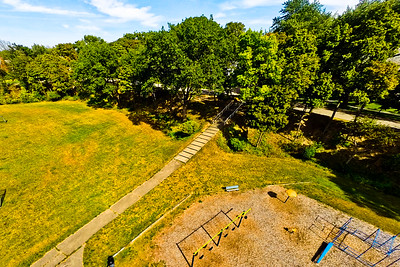 Community Park in Early Autumn 8 : Aerial Photography from Project Aerospace