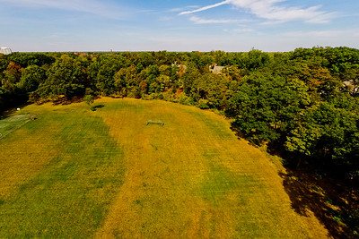 Community Park in Early Autumn 2 : Aerial Photography from Project Aerospace