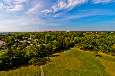 Community Park in Early Autumn 4 : Aerial Photography from Project Aerospace