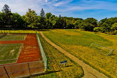 Community Park in Early Autumn 5 : Aerial Photography from Project Aerospace