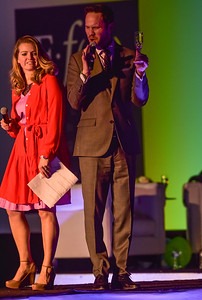 Project Funway Emcees Erik & Kimberly Williams