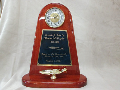 This award was presented to the 1962 Buehler Turbo Craft and Marine Services Unlimited at the Traverse City, Boats on the board walk show in August of 2014.