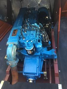 Rebuilt engine installed.