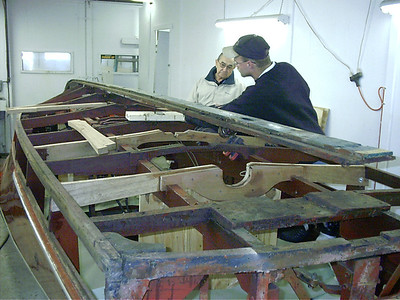Installing new frames.