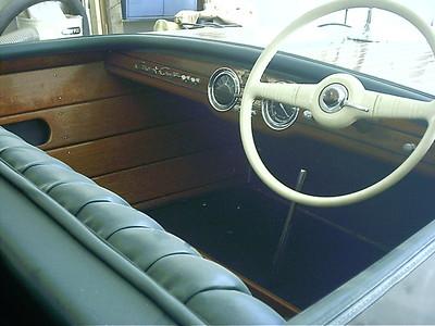Front cockpit view.