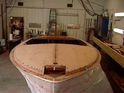 front deck skin installed