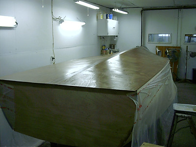 coating bottom with epoxy