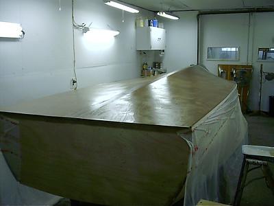coating bottom with epoxy