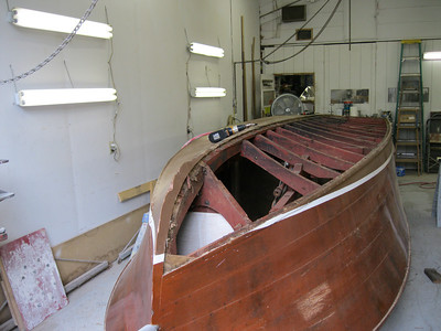 Front view of starboard bottom removed.
