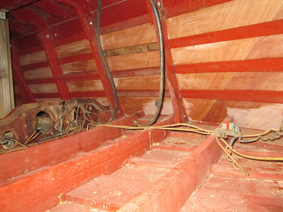Another picture from inside the hull.