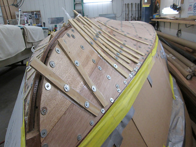 Front starboard view of second layer.