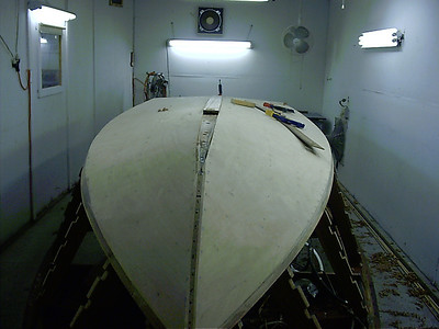 Starting to fit keel cap.