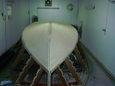 Ready to fit keel cap.