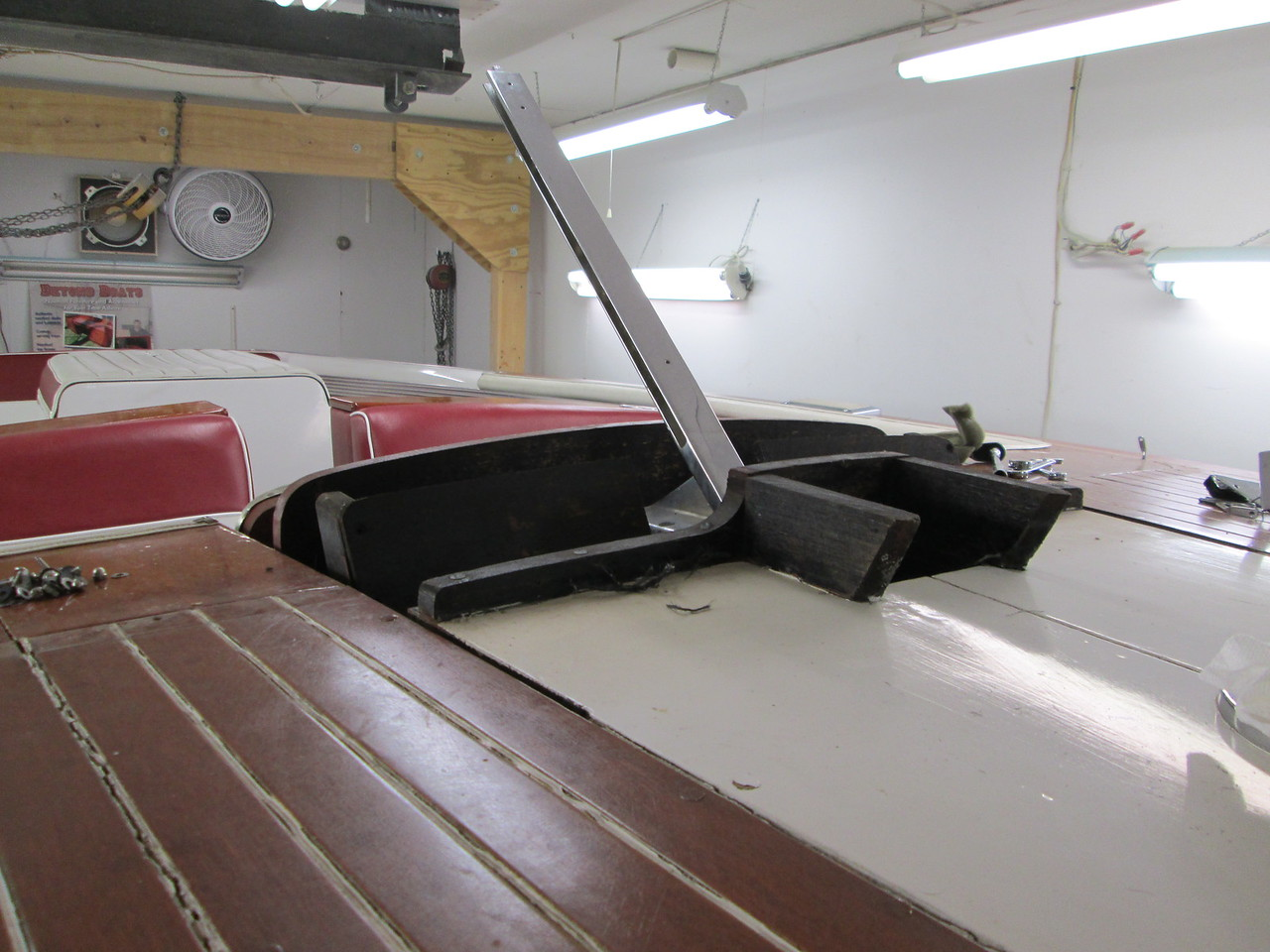 Wind shield and front air vent removed.