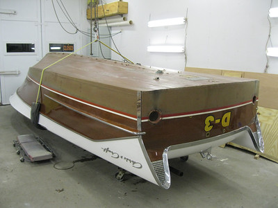 Rear starboard view.
