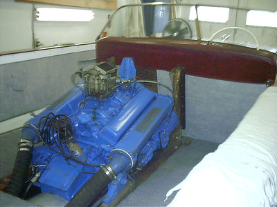 Engine view.