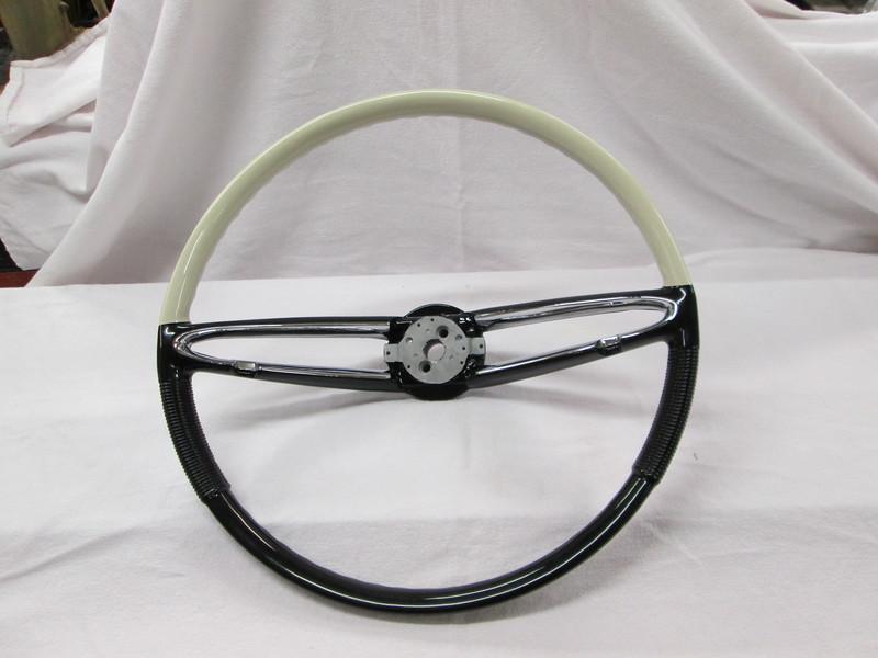 Steering wheel that we rebuilt by Kochs in Action Califorina.