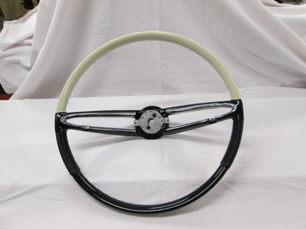 Steering wheel that we rebuilt by Kochs in Action Califorina.