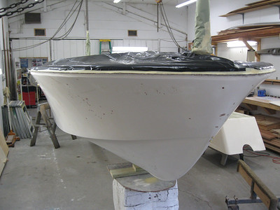 Starboard front ready for primer.