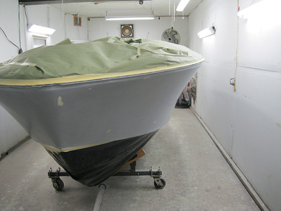 Front port view of sides ready for paint.