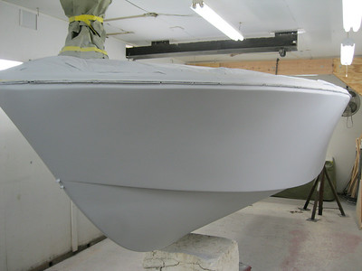 Front port view with primer applied.