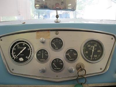 Instrument panel.