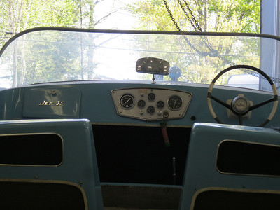 Instrument panel view.