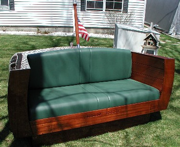 front view of loveseat