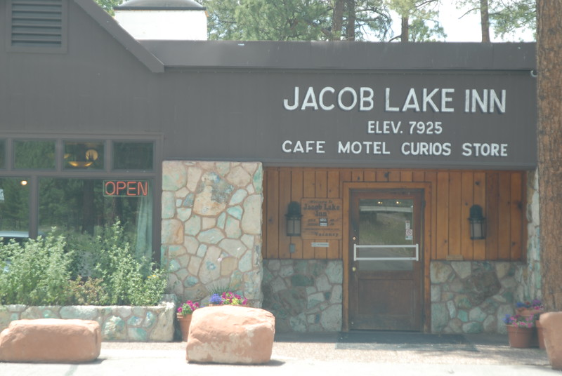 A sight I did not expect to see again. What great news that Jacob Lake Inn is intact and open for business