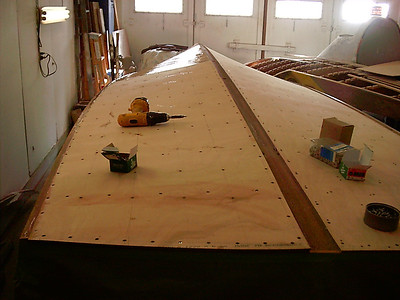 double layer plywood bottom