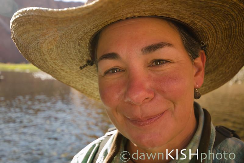 Natalie Jensen, Flyfishing Guide, Lees Ferry, Glen Canyon, AZ