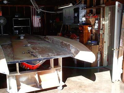 Starboard fillet removed.