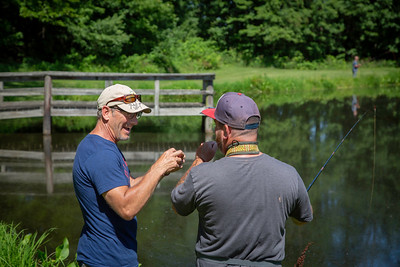 Project Healing Waters Fly Fishing Outing, July, 2019