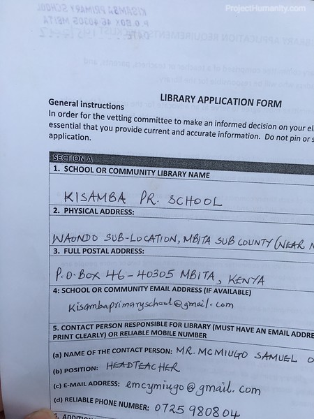 2018 Libary Application