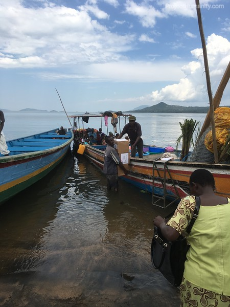 Delivery By Traditional Fishing Boat