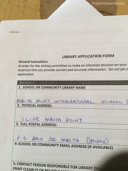 2018 Library Application