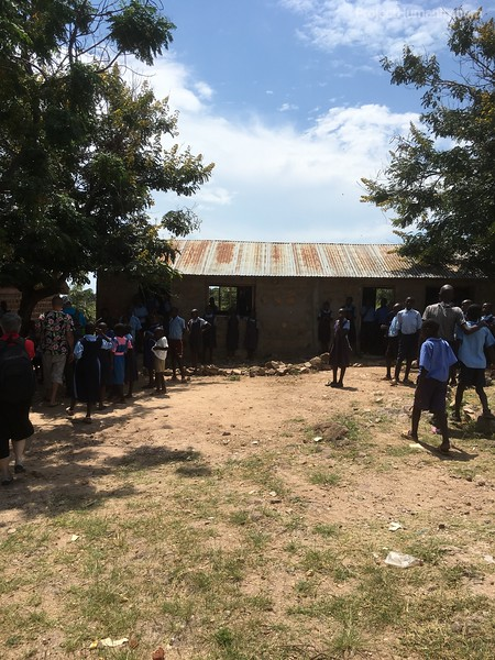 Typical School in Rural Kenya