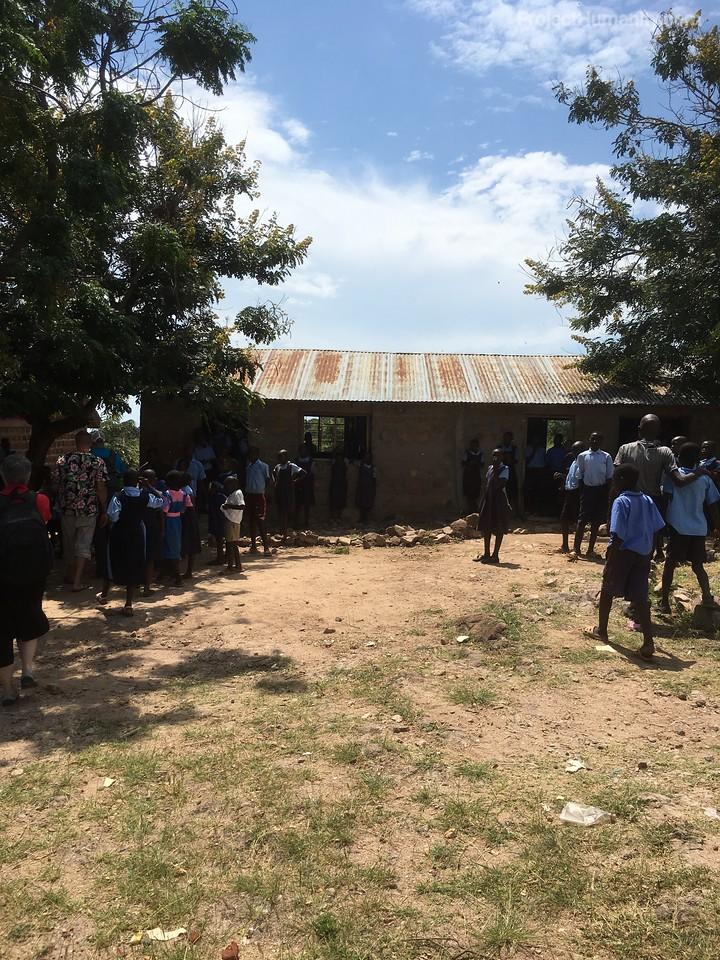 Typical School in Rural Kenya