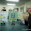 Some finished quilts donated on the day (as well as the quilt tops!!)