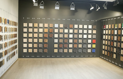Flooring Showroom Wall Display