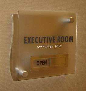 Corporate  Directional Sign