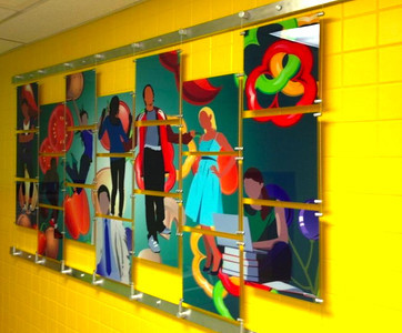 Cable Wall Art Display
