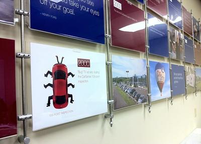 Corporate Lobby Display
