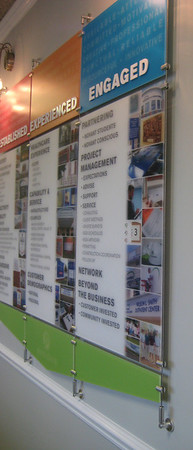 Corporate Wall Display