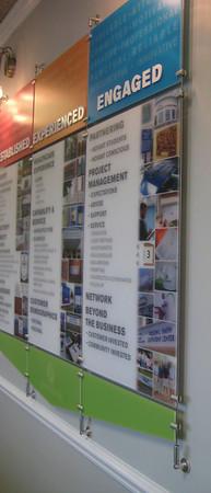 Corporate Wall Display