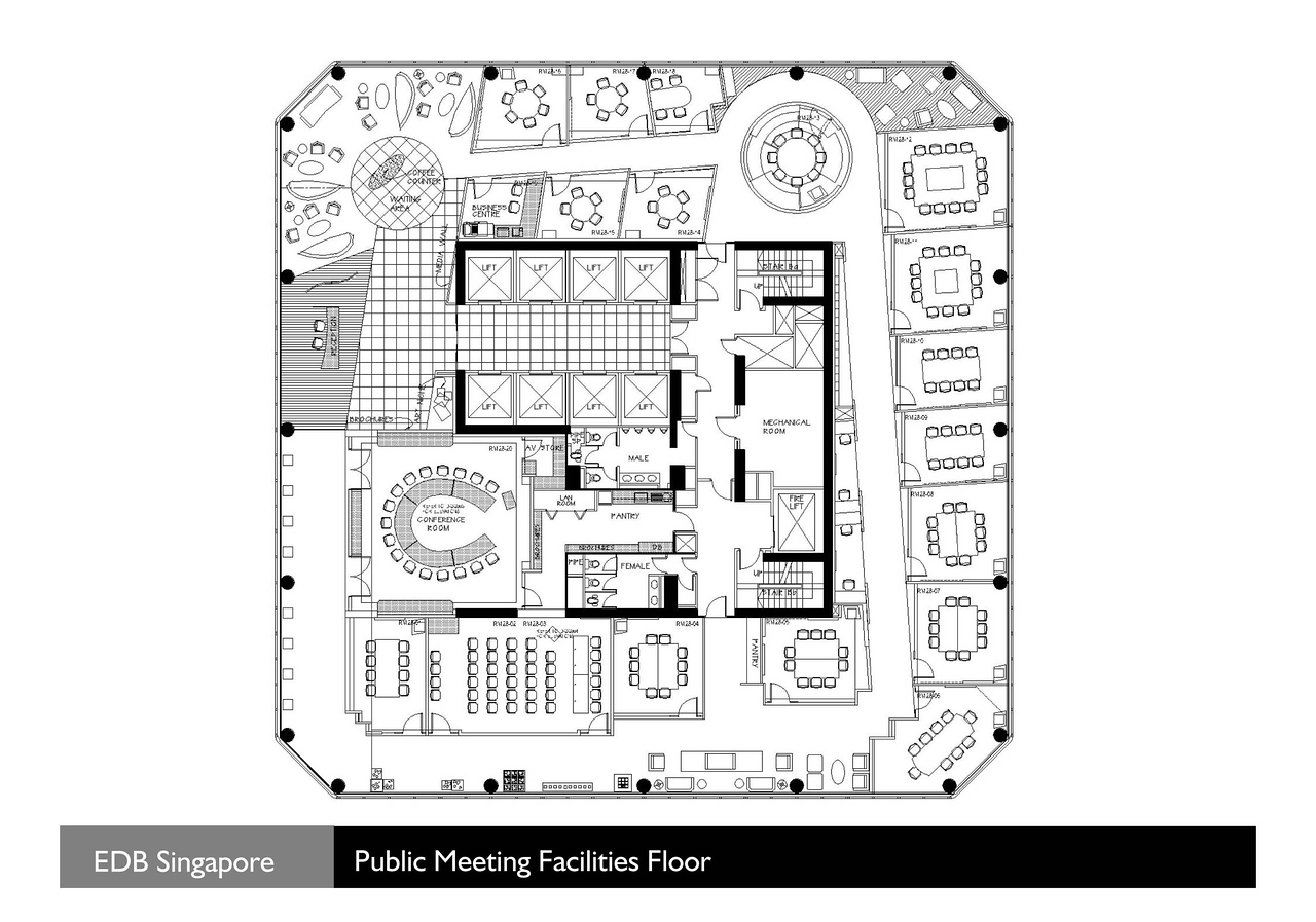 EDB - Plan 01 - Conferencing Floor
